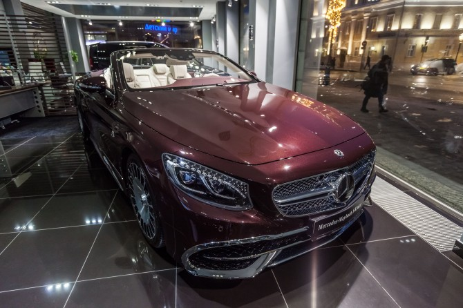 Mercedes-Maybach S 65 Cabriolet